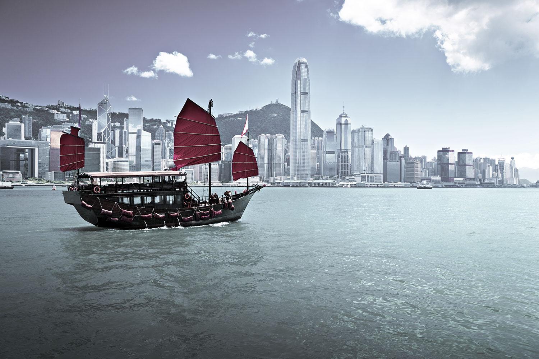 Larusée à Hong Kong