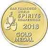 San Francisco World Spirit Competition Gold Award