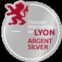 Médaille Argent Concours International de Lyon