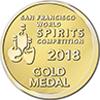 San Francisco World Spirit Competition Gold Award